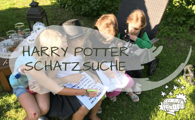 Schatzsuche zur Harry Potter Party