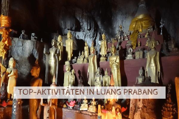 Topaktivitäten in Luang Prabang