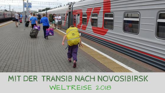 Transsibirische Eisenbahn Moskau bis Novosibirsk