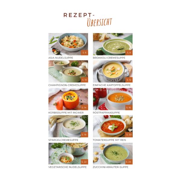 Mein Suppenkochbuch - Inhalt 2