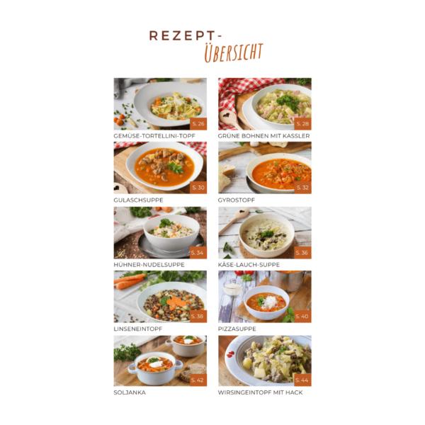 Mein Suppenkochbuch - Inhalt 1